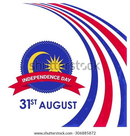 vector 31 august celebration