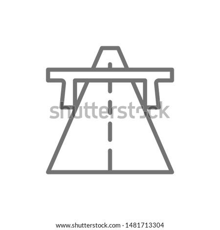 vector autobahn  highway  road