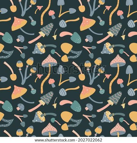 vector autumn seamless pattern