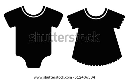 a907d4763 Free Baby Clothes Vector - Download Free Vector Art