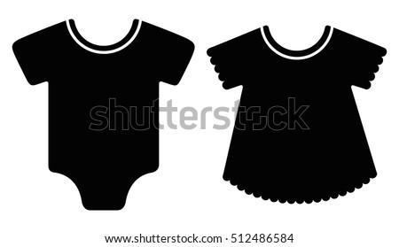 b3d685f1b7b7 Free Baby Clothes Vector - Download Free Vector Art