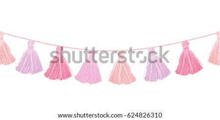 vector baby girl pink hanging