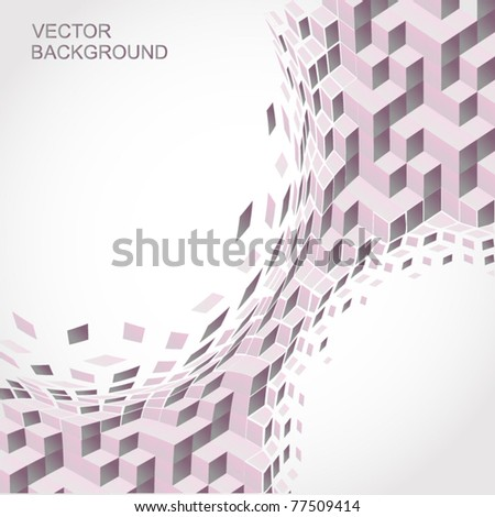 Vector Background. Abstract
