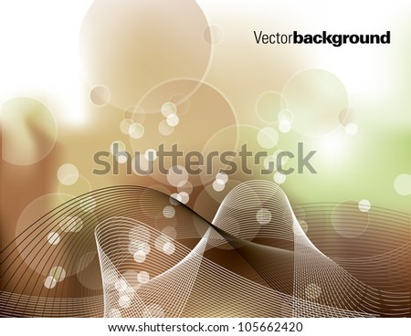 Vector Background. Abstract Illustration.