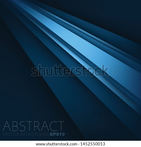 Vector background abstract overlap layer with space for text and background design