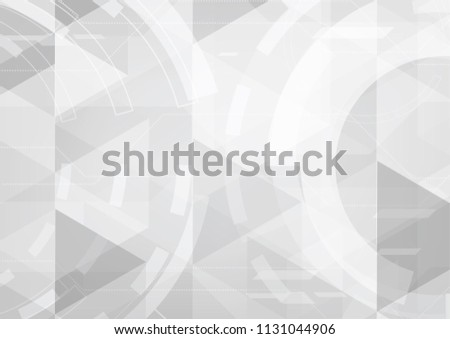 vector background abstract technology communication concept #1131044906