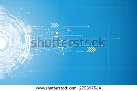 vector background abstract technology communication concept
