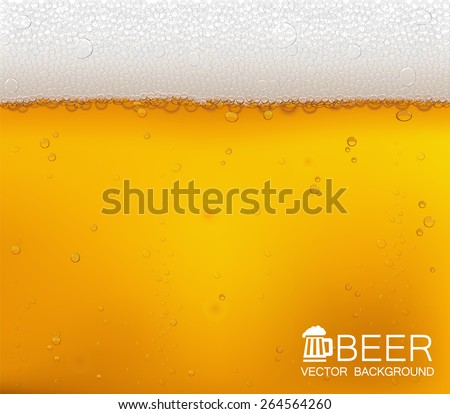 vector background beer in the