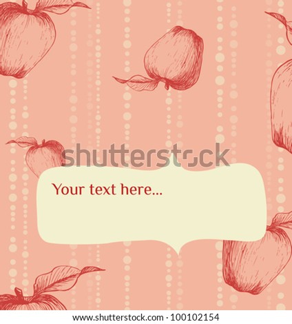 Vector background&card