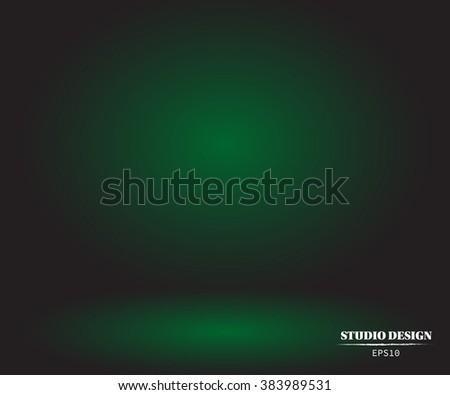 vector background   empty green