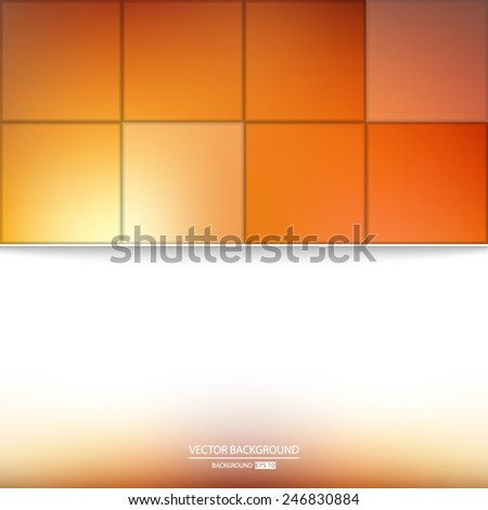 Vector Background For Web Art Page Design Plan Card