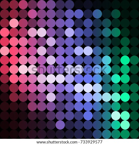 vector background from circles