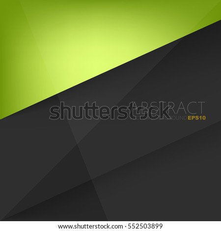 vector background green with