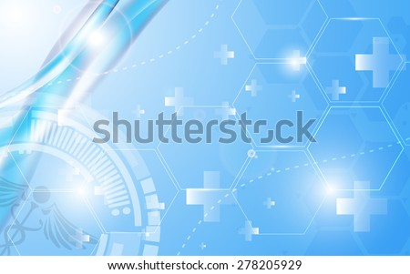 vector background health care