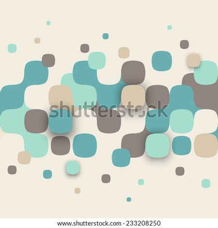 stock vector vector background illustration of abstract texture with squares pattern design for banner poster 233208250 - Каталог — Фотообои «3D Текстуры»