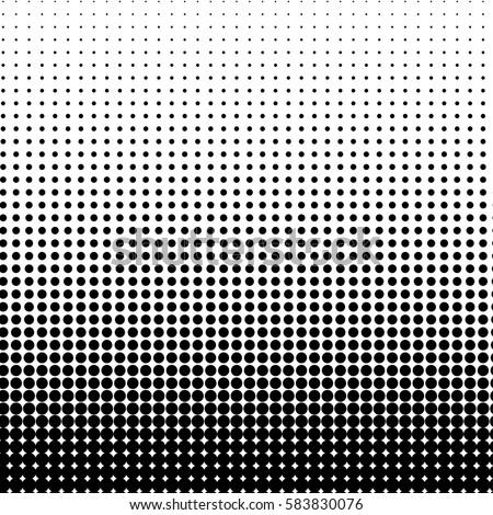 vector background in half tones design dots