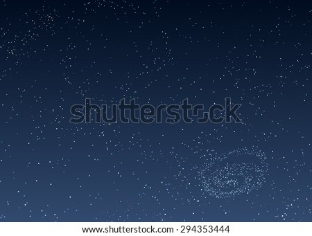 vector background is dark blue