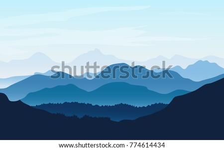 vector background landscape