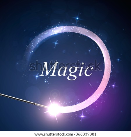 vector background magic glov