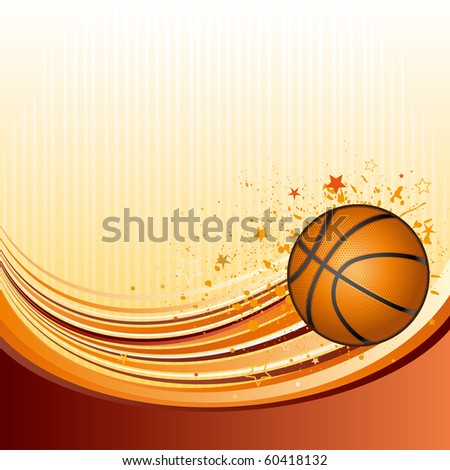 vector background of basketball sport