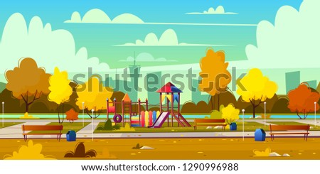 vector background of cartoon