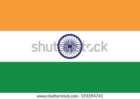 vector background of india flag