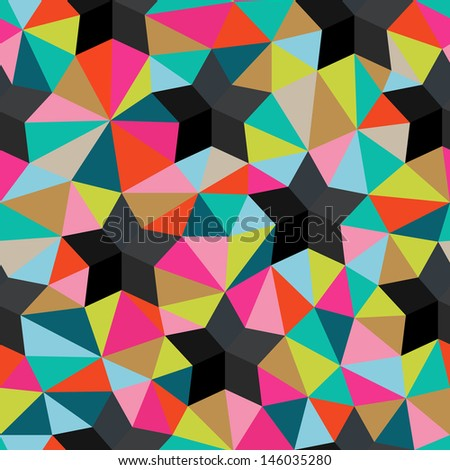 vector background of repeating