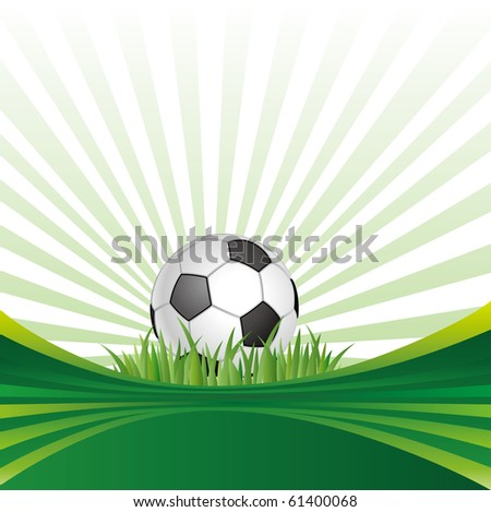 vector background of soccer sport