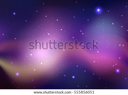 vector background of space with