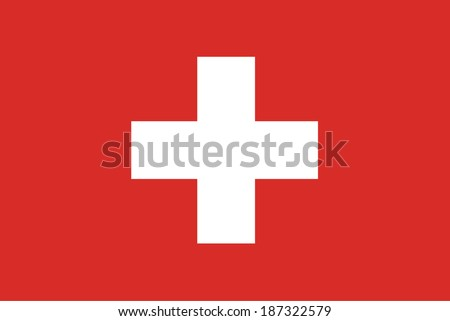 vector background of  switzerland flag