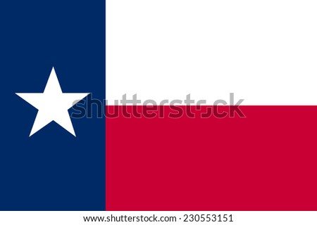 vector background of texas flag