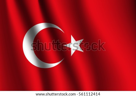 vector background of turkey
