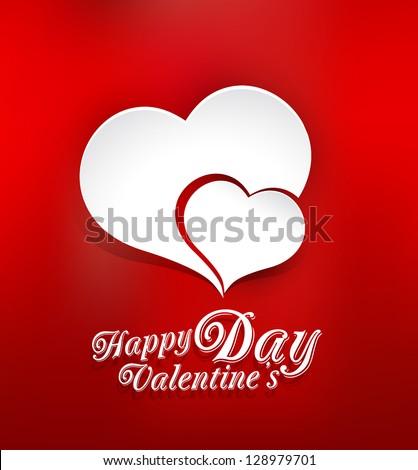 vector background of valentine