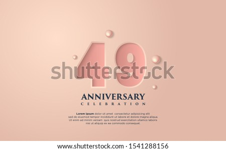 vector background on a 49 year