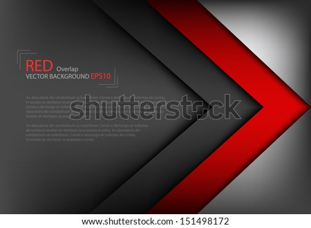vector background overlap