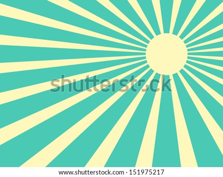 vector background sun rays with ...