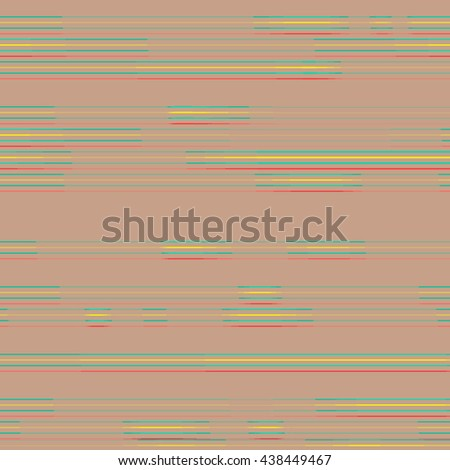 Vector background thin horizontal bright lines on beige background #438449467