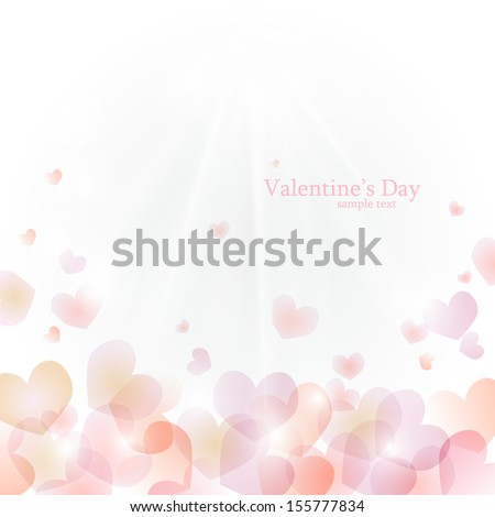 vector background to valentine