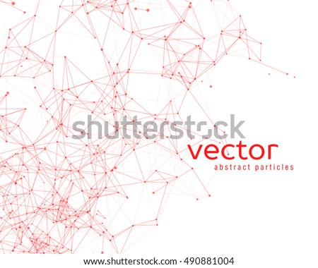 vector background with abstract