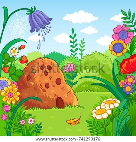 vector background with an