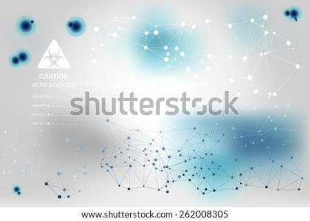 vector background with blue