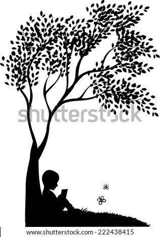 vector background with child