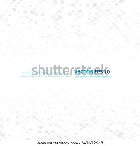 Vector Background with copy-space. White and grey abstract perspective background #249692668