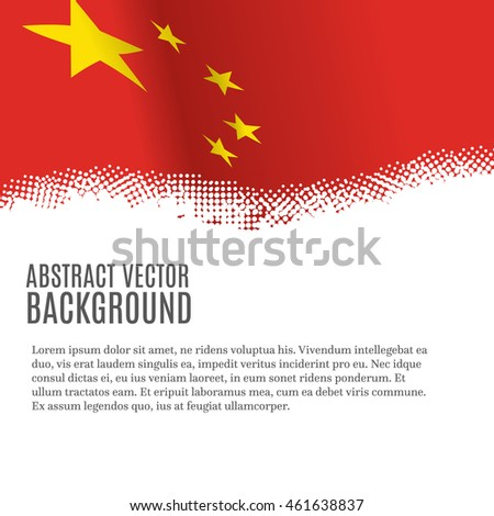 vector background with flag of