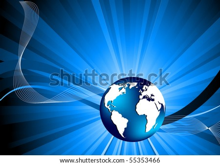 Black And White Globe Clip Art. with globe; clip-art