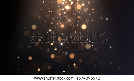 vector background with golden