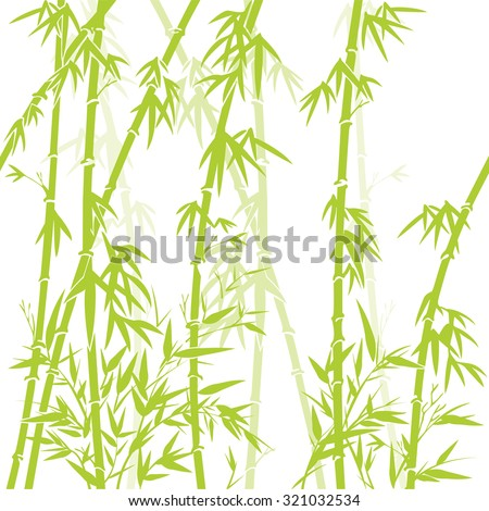 vector background with green