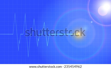 vector background with life
