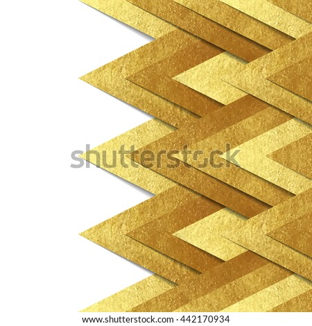vector background with metallic