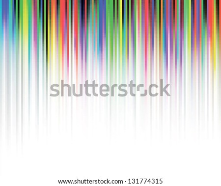 Vector background with multicolour bright stripes